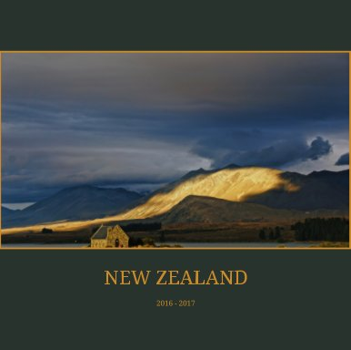 New Zealand book cover