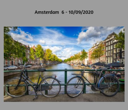 Amsterdam book cover