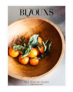 Bijouxs Little Jewels No. 2 From the Garden-IG book cover