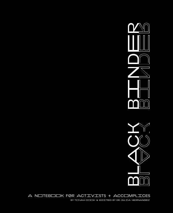View Black Binder by Tovah Cook
