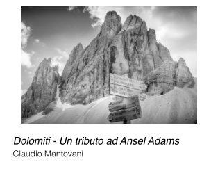 Dolomiti - Un tributo ad Ansel Adams book cover
