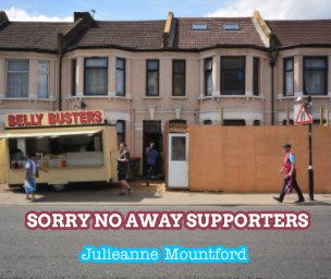 Sorry no away supporters book cover