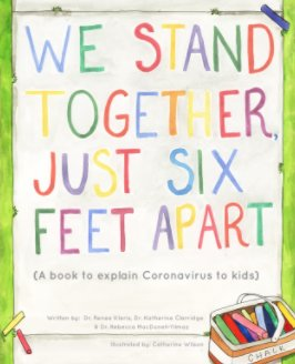 We Stand Together Just Six Feet Apart (Hardcover) book cover