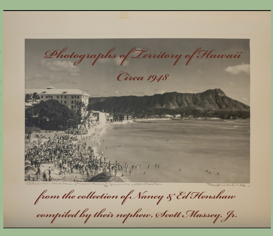 View Photographs of Territory of Hawaii, Circa 1948 by Compiled by Scott Massey
