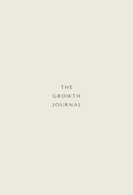 View The Growth Journal by Rachel Fisher