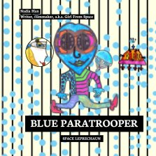 Blue Paratrooper book cover