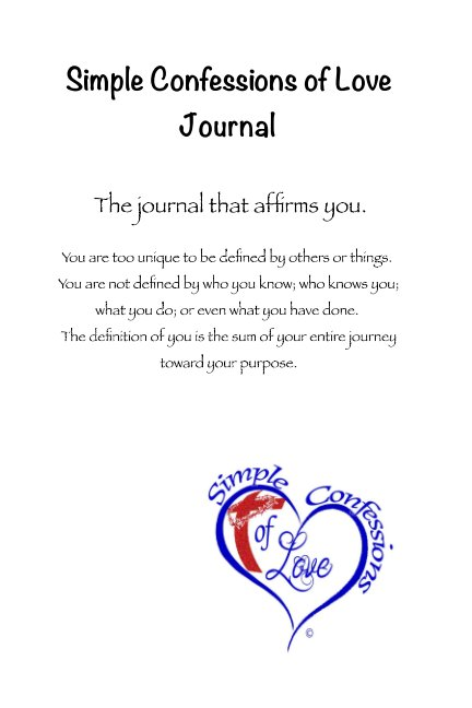 View Simple Confessions of Love Journal by Jacqueline Jones