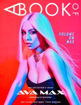 A BOOK OF Ava Max Cover 2 book cover