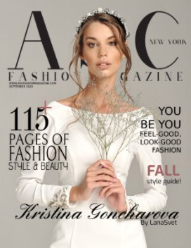 ASC Fashion Magazine September Issue book cover