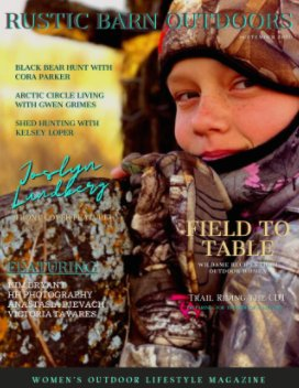 Rustic Barn Outdoors Magazine book cover