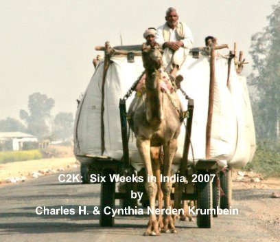 C2K: Six Weeks in India, 2007 book cover