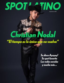 Christian Nodal 2020 book cover