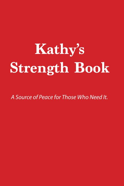 View Kathy's Strength Book by Sharon Grey