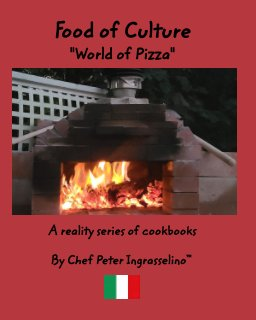 """Food of Culture """"World of Pizza"""" book cover"""