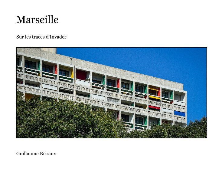 View Marseille by Guillaume Birraux