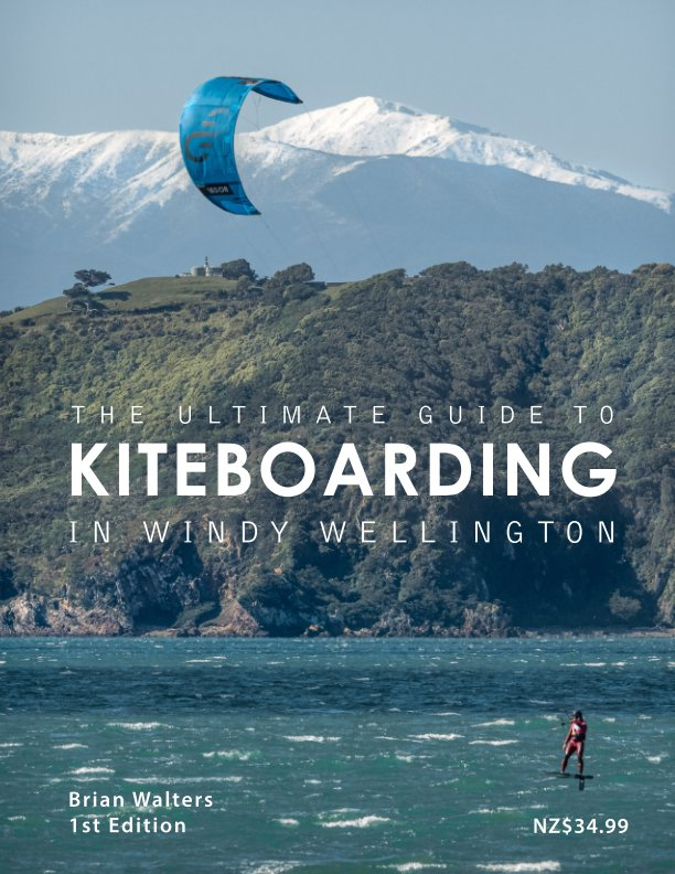 View Wellington Kiting by Brian Walters