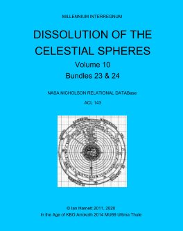 Dissolution of the Celestial Spheres 23, 24 book cover