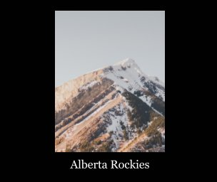 Canadian Rockies book cover