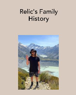 Relic's Family History book cover