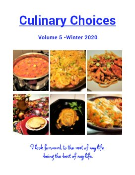 Culinary Choices - Fall 2020 book cover