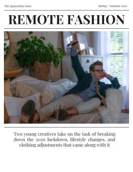 Remote Fashion book cover