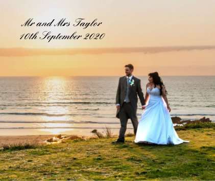 Mr and Mrs Taylor 10th September 2020 book cover