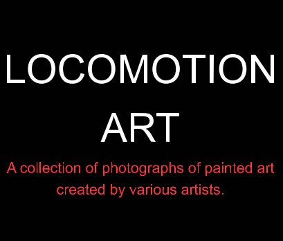 Locomotion Art book cover