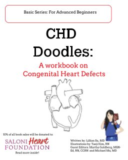 CHD Doodles: A Workbook on Congenital Heart Defects book cover