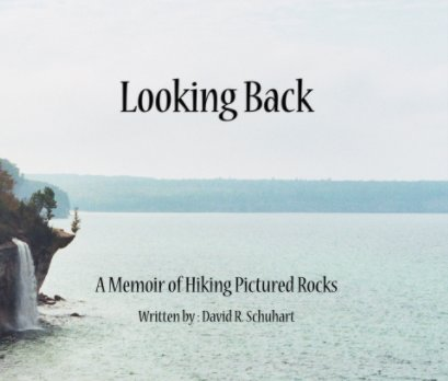 Looking back book cover