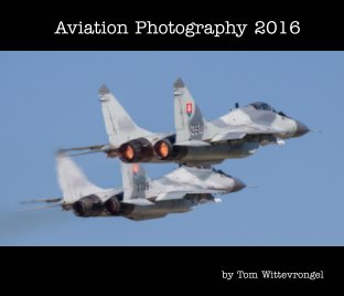 Aviation Photography 2016 book cover