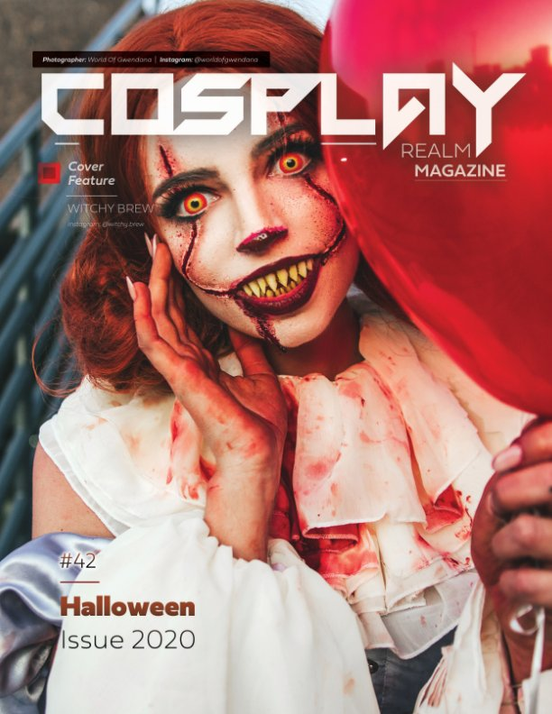 View Cosplay Realm Magazine No. 42 by Emily Rey, Aesthel