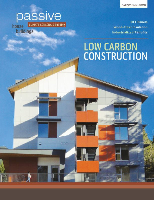 View Low Carbon Construction by Passive House Buildings
