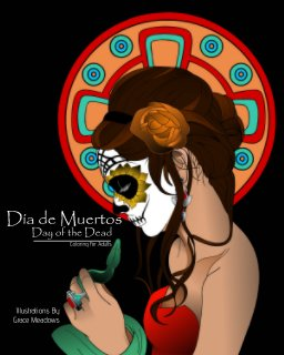 Día de Muertos, Day of the Dead: Coloring for Adults book cover