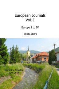 European Journals Volume 1 book cover