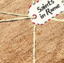 Saints in Rome book cover