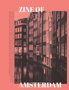 Zine of Amsterdam book cover