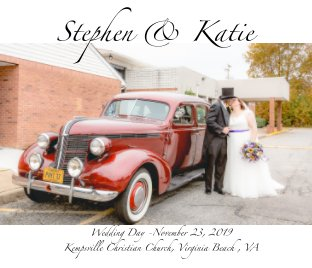 Steven and  Katie Wedding Day book cover