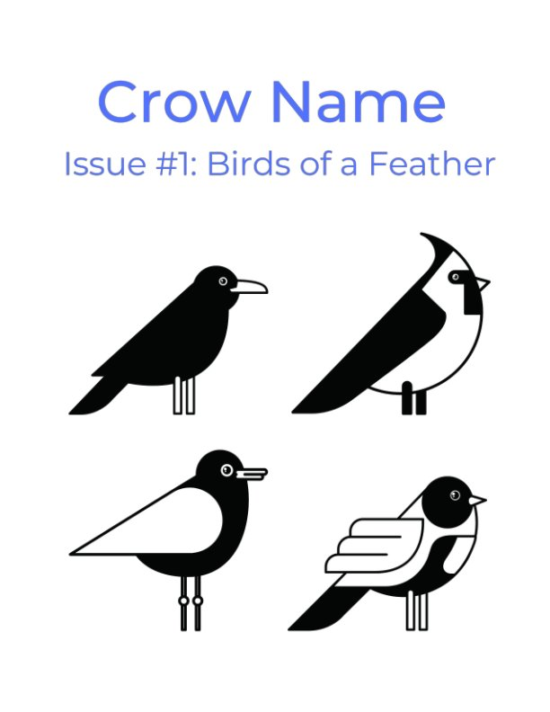 View Crow Name Issue 1 by Gail Bello, Meagan Jones