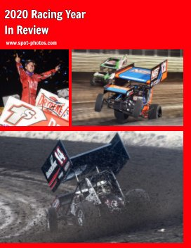 2020 Racing in Review book cover