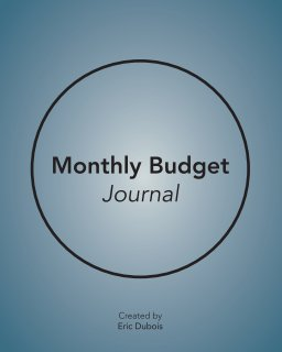 Monthly Budget Journal book cover