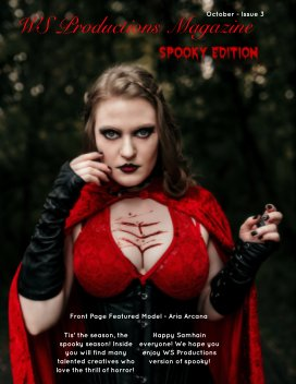 WS Productions Magazine - Spooky Edition Issue 3 book cover