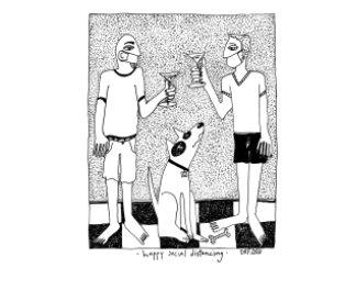 David Farnsworth Art' PEN'demic  Volume 1 book cover