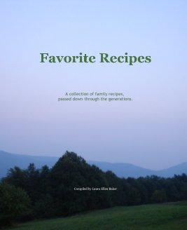 Favorite Recipes book cover