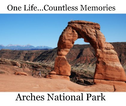 Arches National Park book cover