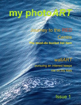 my photoART Issue 1 book cover