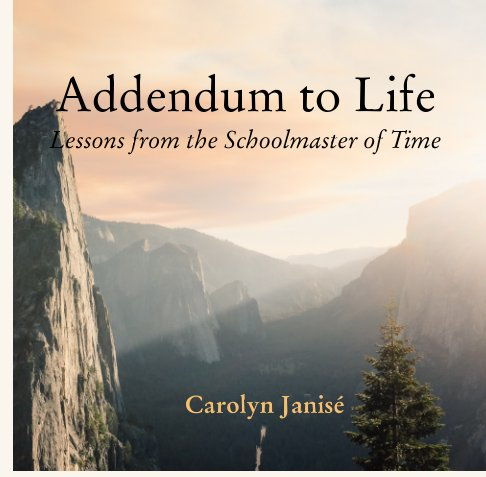 View Addendum to Life Lessons from the Schoolmaster of Time by Carolyn Janisé