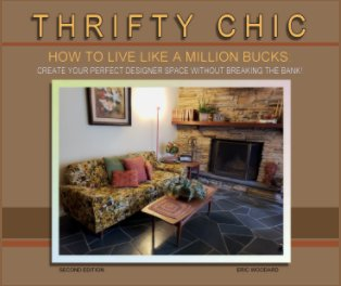 THRIFTY CHIC - How To Live Like A Million Bucks: book cover