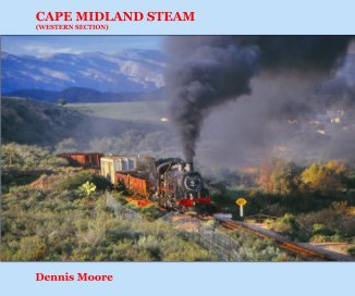 CAPE MIDLAND STEAM (Western Section) - standard landscape version book cover