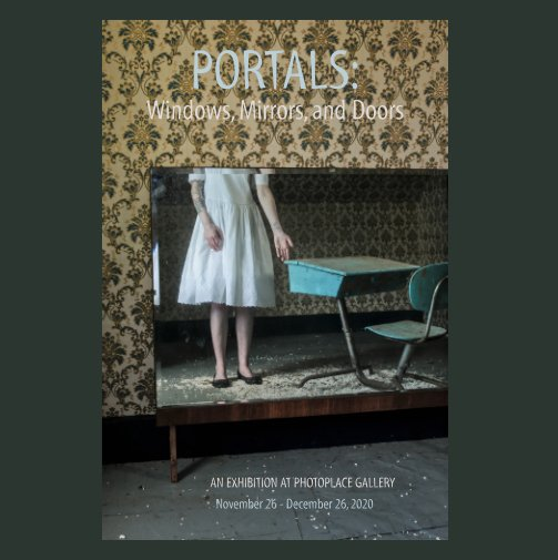 View Portals: Windows, Mirrors and Doors, Hardcover Imagewrap by PhotoPlace Gallery