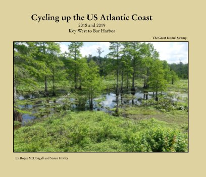 Cycling the Atlantic Coast 2018-2019 book cover